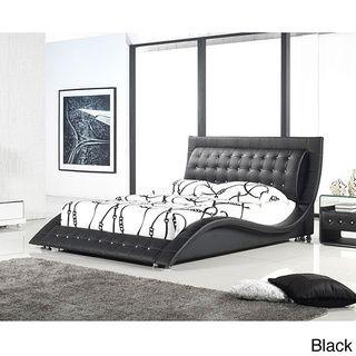 Dublin Modern King Size Platform Bed | Overstock.com Shopping   The Best  Deals On