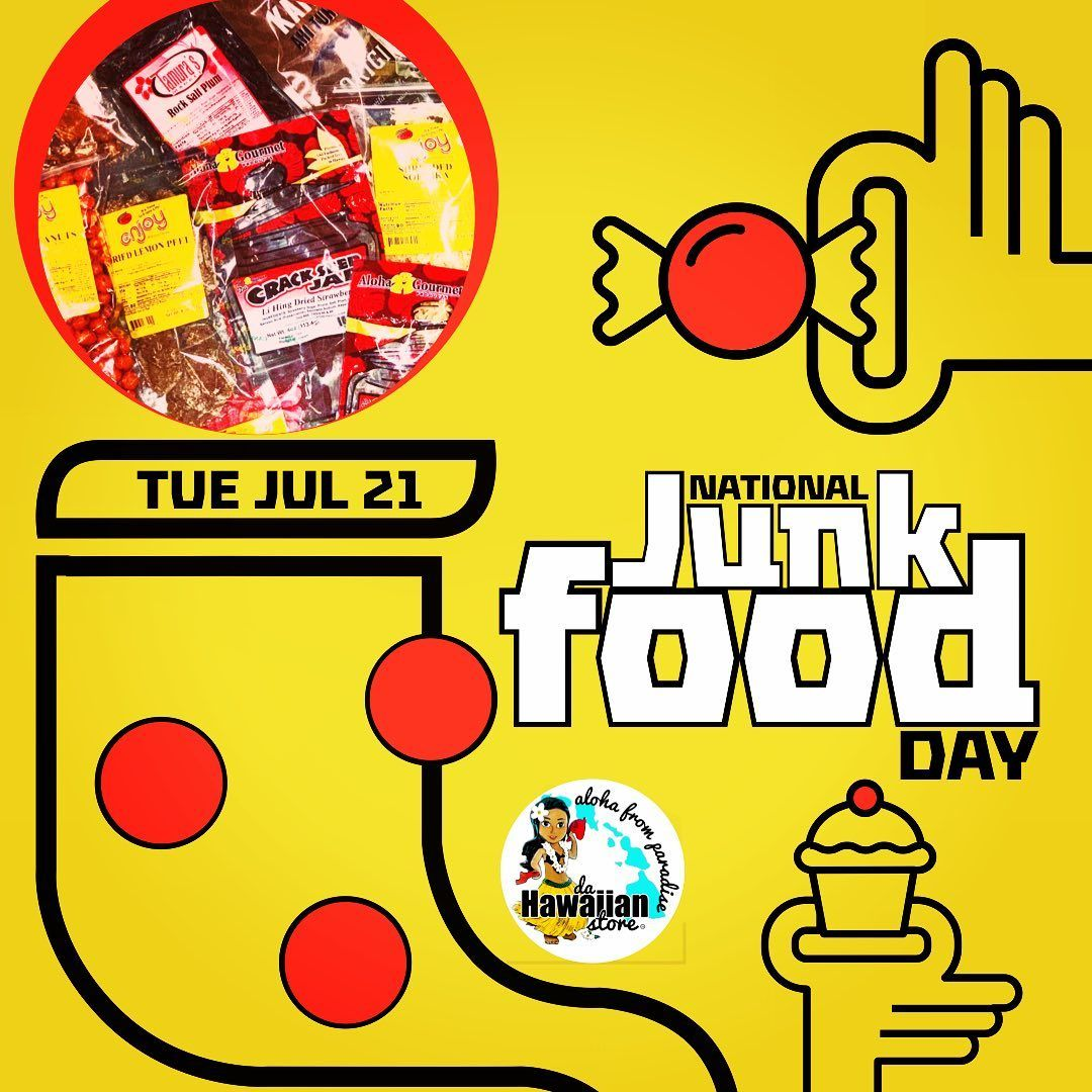 Need an excuse to snack? Be sure and support National Junk