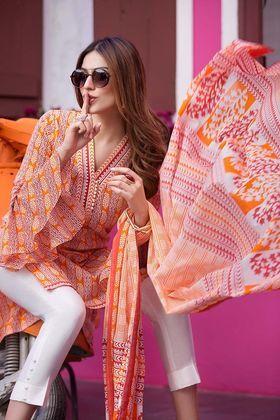 4293026fc6 Gul Ahmed 2 Piece Summer Essential 2018 Custom Stitched Lawn Suit - TL-103 A