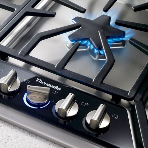 """SGSX365FS Thermador 36"""" Masterpiece Deluxe Gas Cooktop"""
