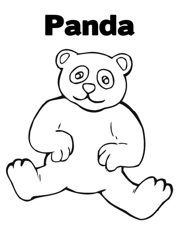 Cute Panda Coloring Pages http://freecoloring-pages.org/cute-panda ...