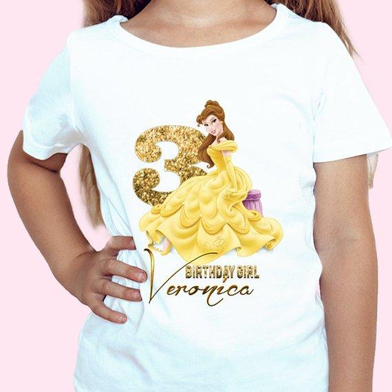 2480d7e1f5e11 Princess Bella Birthday shirt