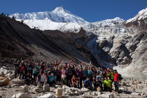 Manaslu Mountain Trail is a challenging multi-stage trail race passing through some of Nepal's most beautiful Himalayan landscapes in a part-circumnavigation of Manaslu, the world's eighth highest mountain.