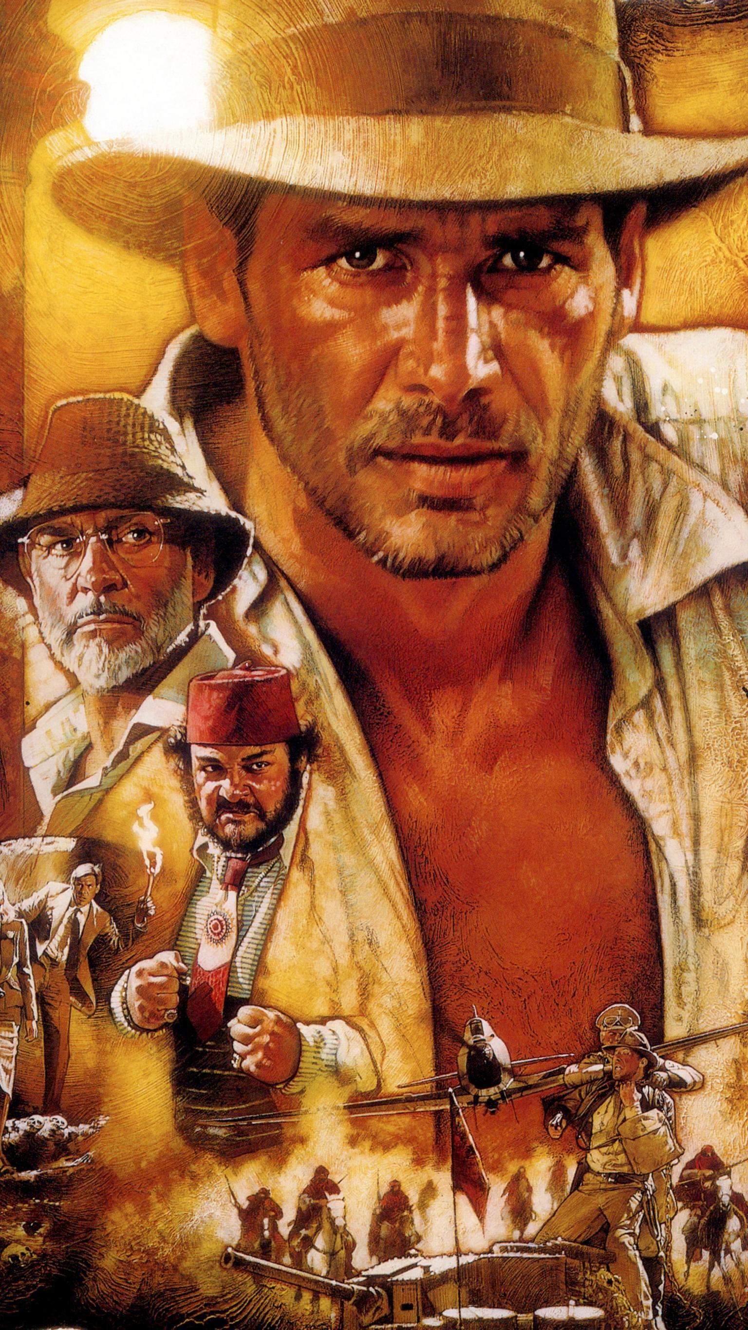 Indiana Jones and the Last Crusade (1989) Phone Wallpaper | Moviemania