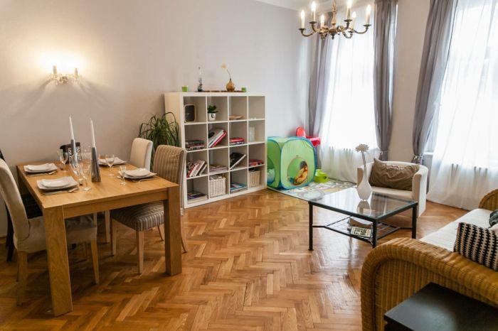 Wie Sie ein kinderfreundliches Wohnzimmer einrichten | Spielecke ...