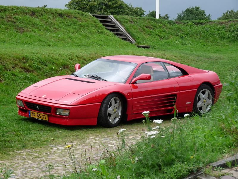 This 348Tb was my first Ferrari ride ever.....what a blast it was!