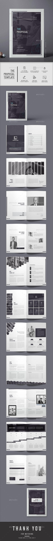 Proposal | Diseño editorial, Editorial y Portafolio