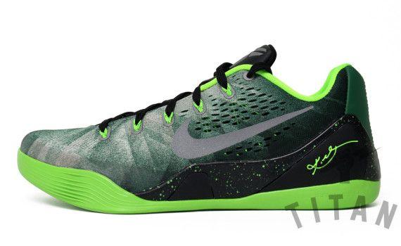 nike kobe 9 em electric gorge green 02 570x350 Nike Kobe 9 EM Premium Gorge  Green
