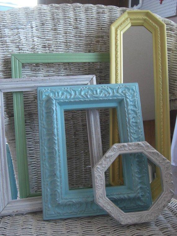 vintage style frames | mesas decoradas | Pinterest | Decoraciones ...
