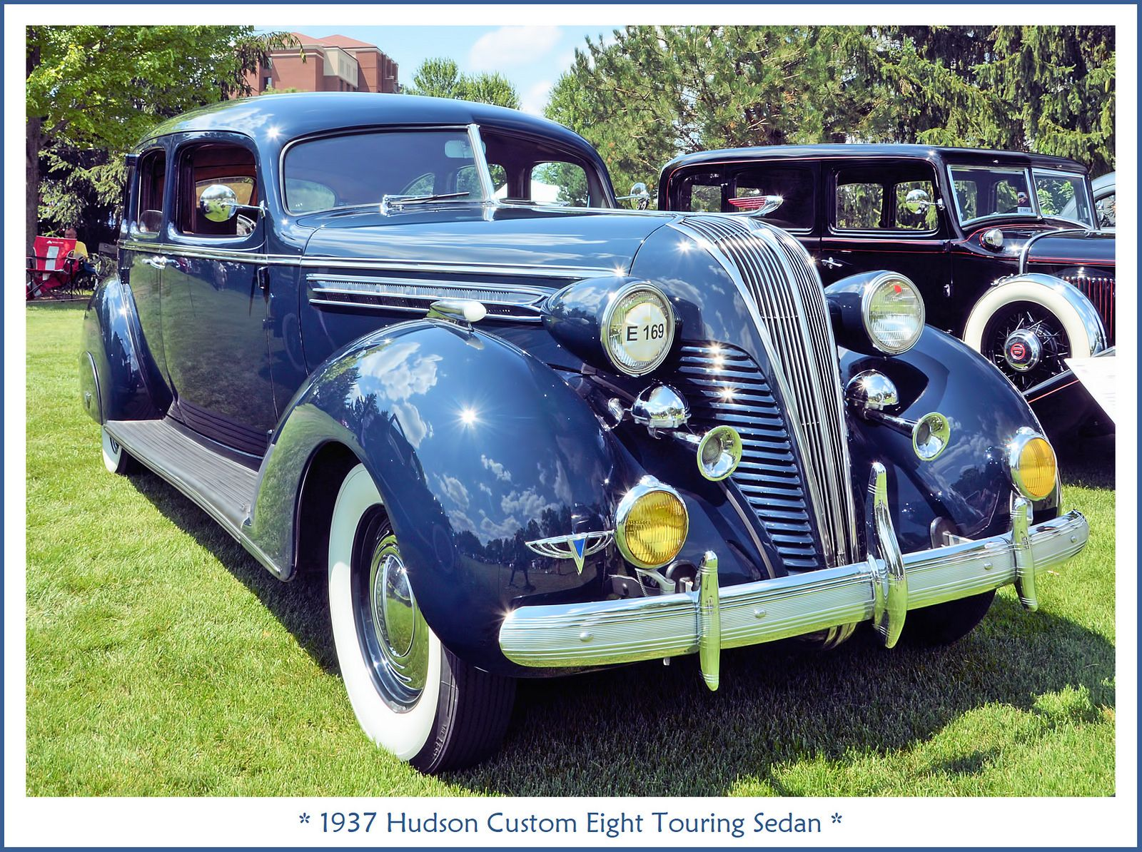 1937 Hudson Custom Eight Touring Sedan