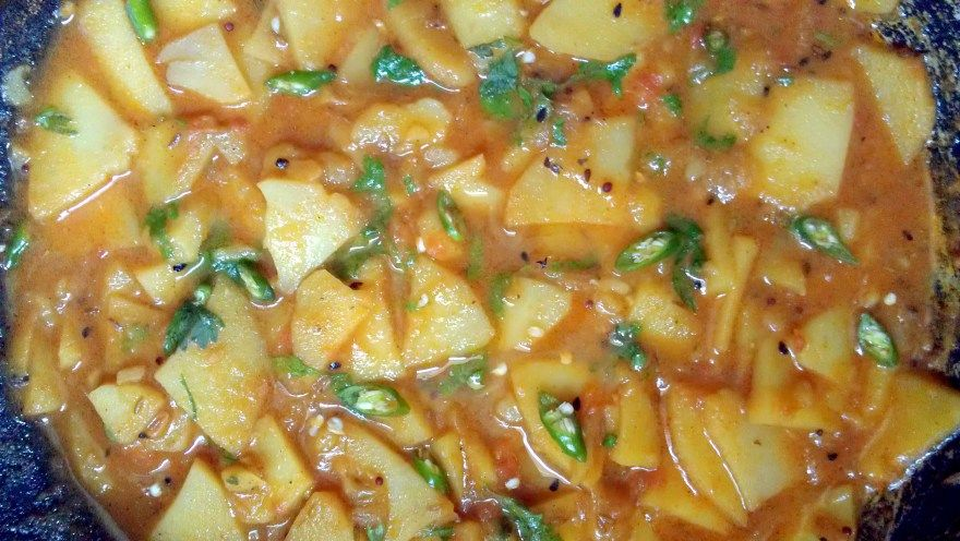 Aloo Pakistani dish