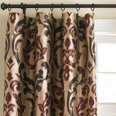 Cindy Crawford Style® Trivoli Rod-Pocket Drapery Panel - jcpenney