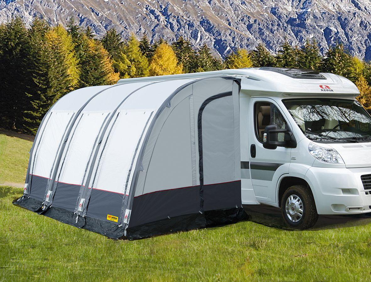 Luftschlauch-Zelt fürs Wohnmobil  Vorzelt wohnmobil, Wohnmobil