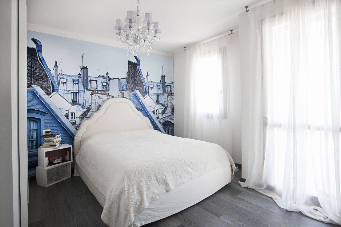 I tetti di Parigi in camera da letto! https://www.homify.it/librodelleidee/76477/una-casa-cucita-su-un-sogno