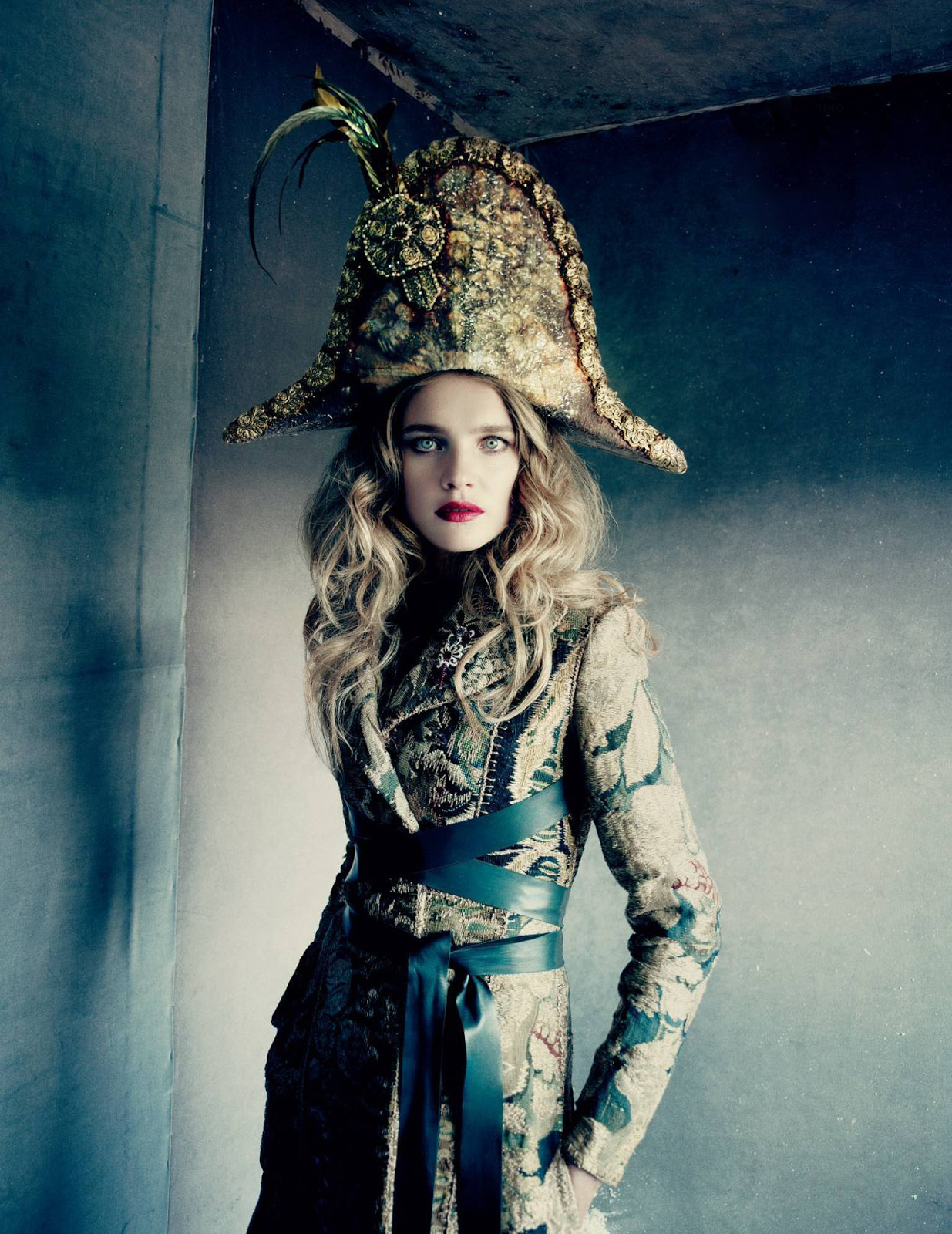 visual optimism; fashion editorials, shows, campaigns & more!: natalia vodianova by paolo roversi for vogue russia december 2014