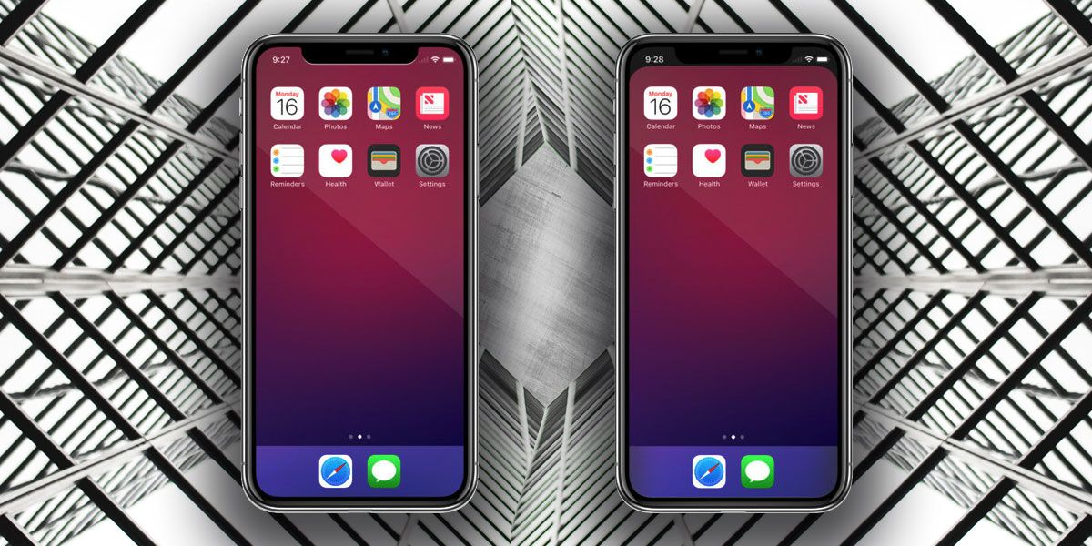 How To Hide The iPhone X Notch From Your Screen Iphone