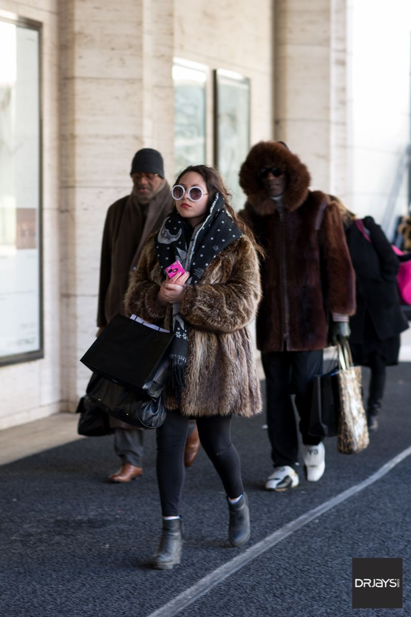Winter Fashion at #NYFW 2015 - ClippingBook - NYFW 2015/2016, fashion, street style, womens fashion, fur coats