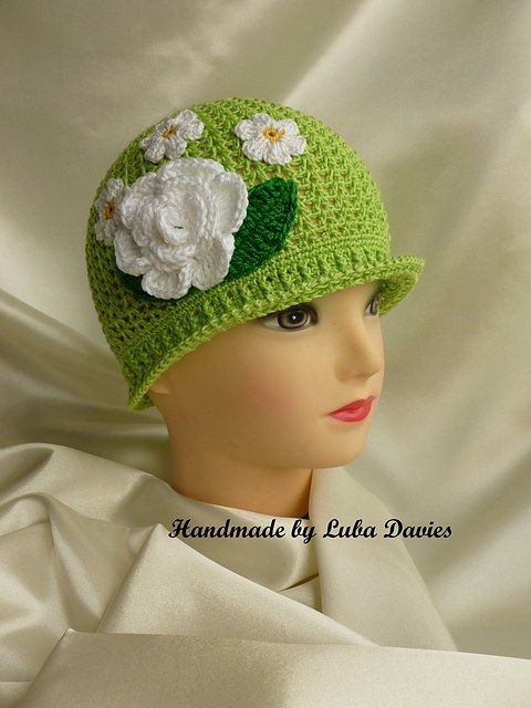 Crochet Cloche Hats The Best Free Collection | Free pattern, Crochet ...