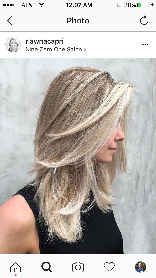 Medium Length V Shape Long Bangs Not Tucked Long Thin Hair Long Hair Styles Hair Styles