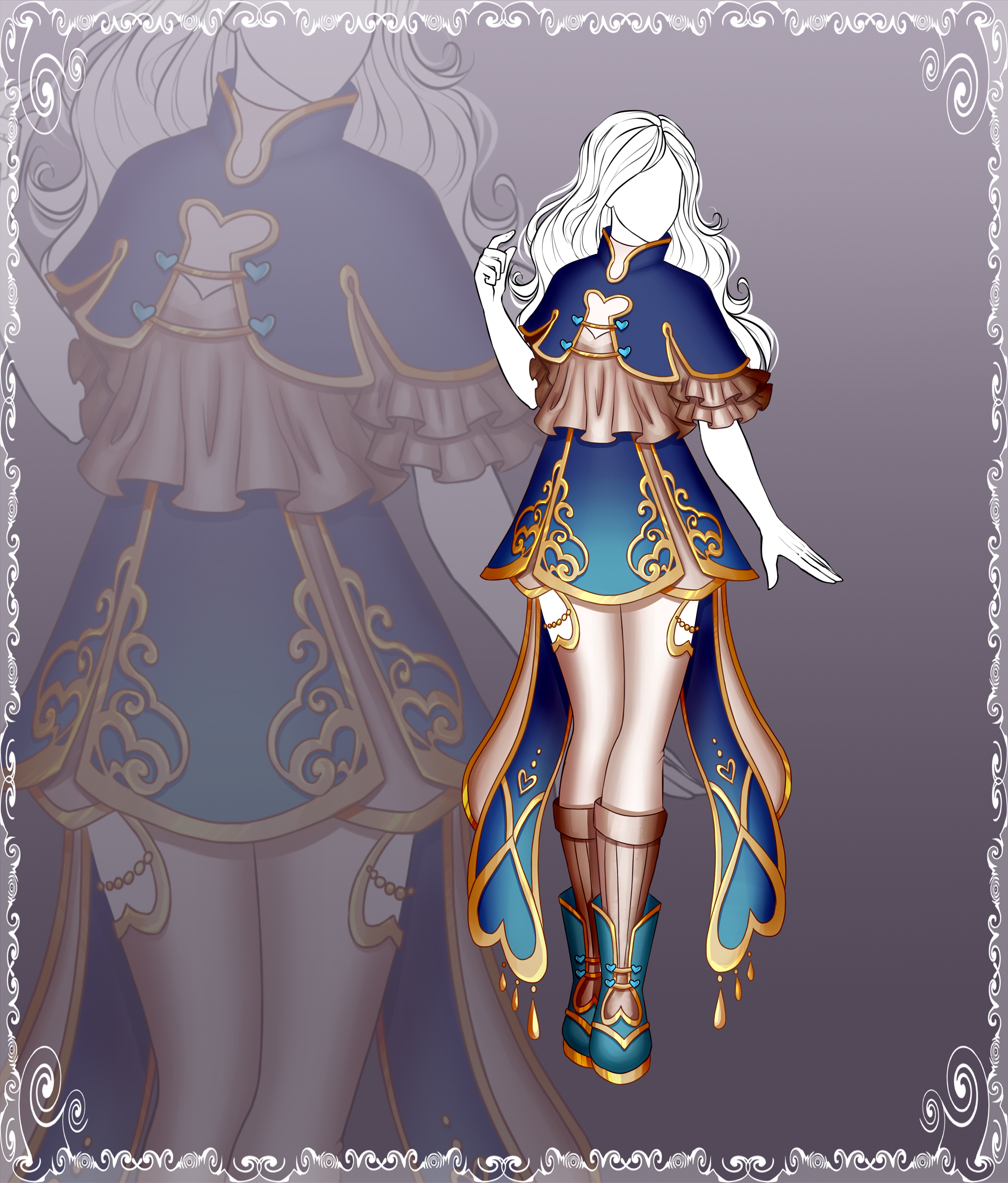 [Close] Adoptable Outfit Auction 140 by Kolmoys on