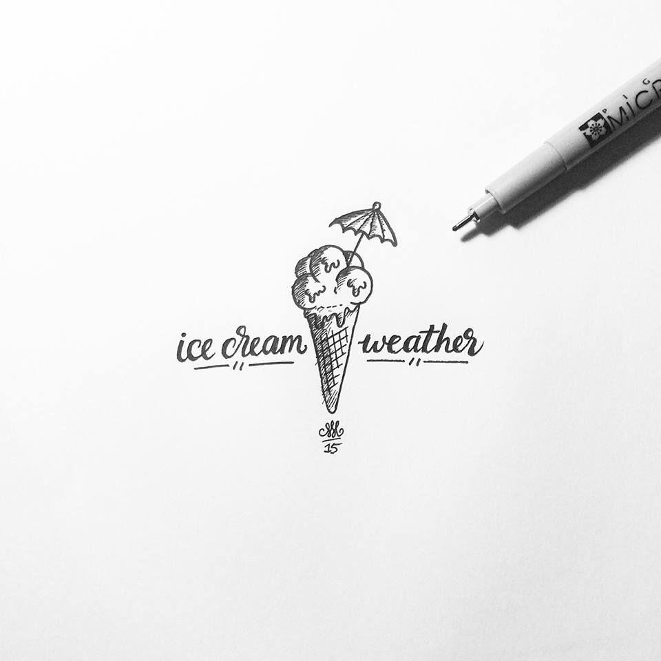 Tiny Ice Cream by Melvin Leidelmeijer