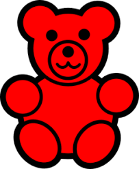 image regarding Gummy Bear Printable called Impression final result for printable images of gummy bears red