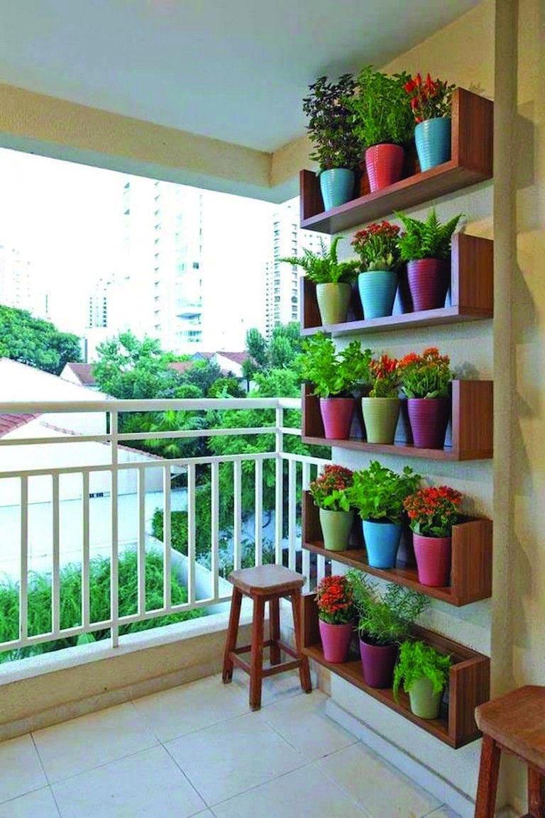 Top 2019 Balcony Hanging Garden Ideas For 2019 Apartment Garden