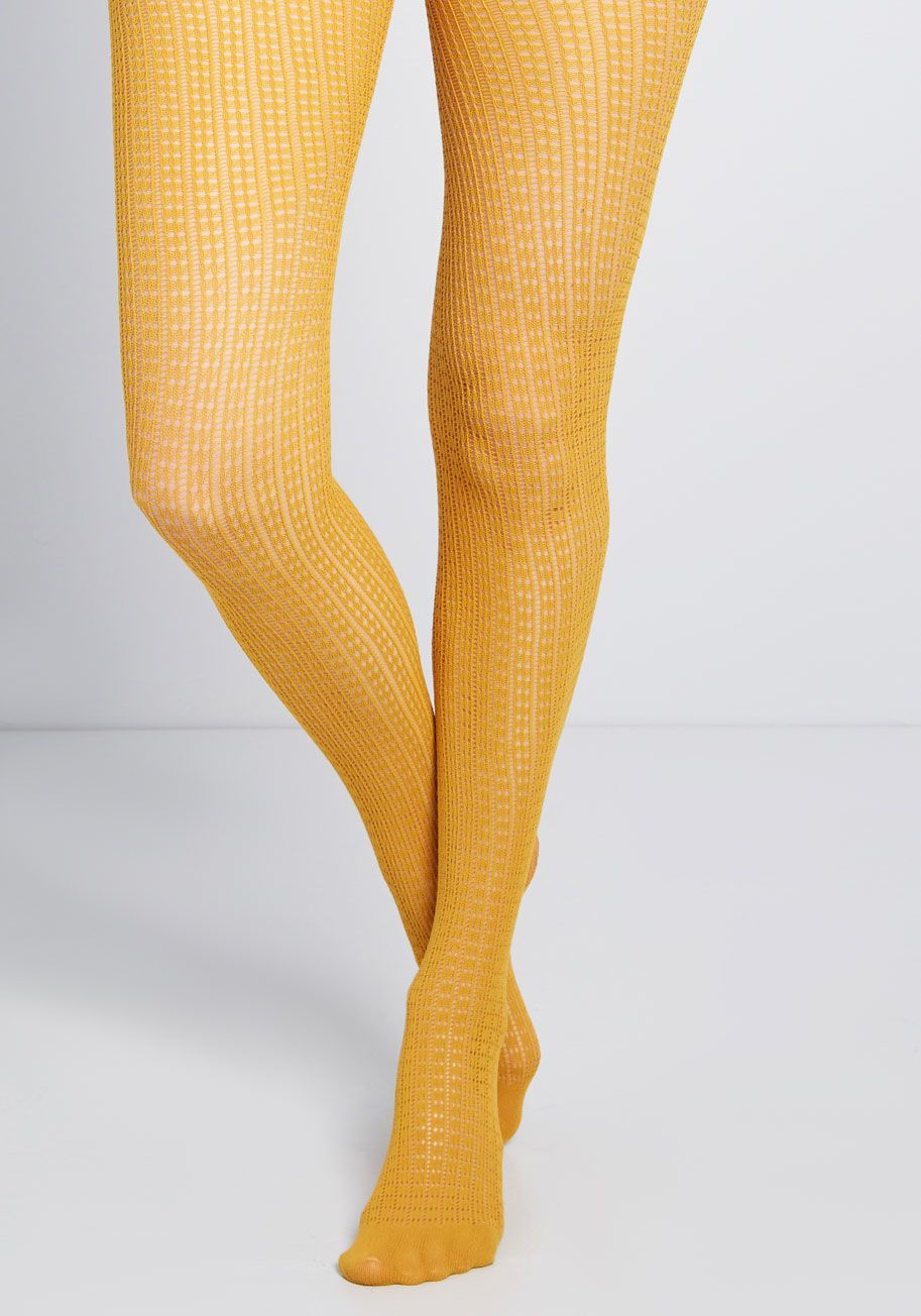 8884429529fe0 Lecture's Loveliest Tights in 2019 | Clothes | Yellow tights, Tights ...