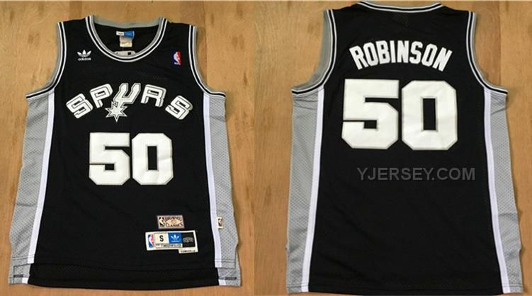 http://www.yjersey.com/spurs-50-david-robinson-black-hardwood-classics-jersey.html Only$33.00 #SPURS 50 DAVID ROBINSON BLACK HARDWOOD CLASSICS JERSEY Free Shipping!