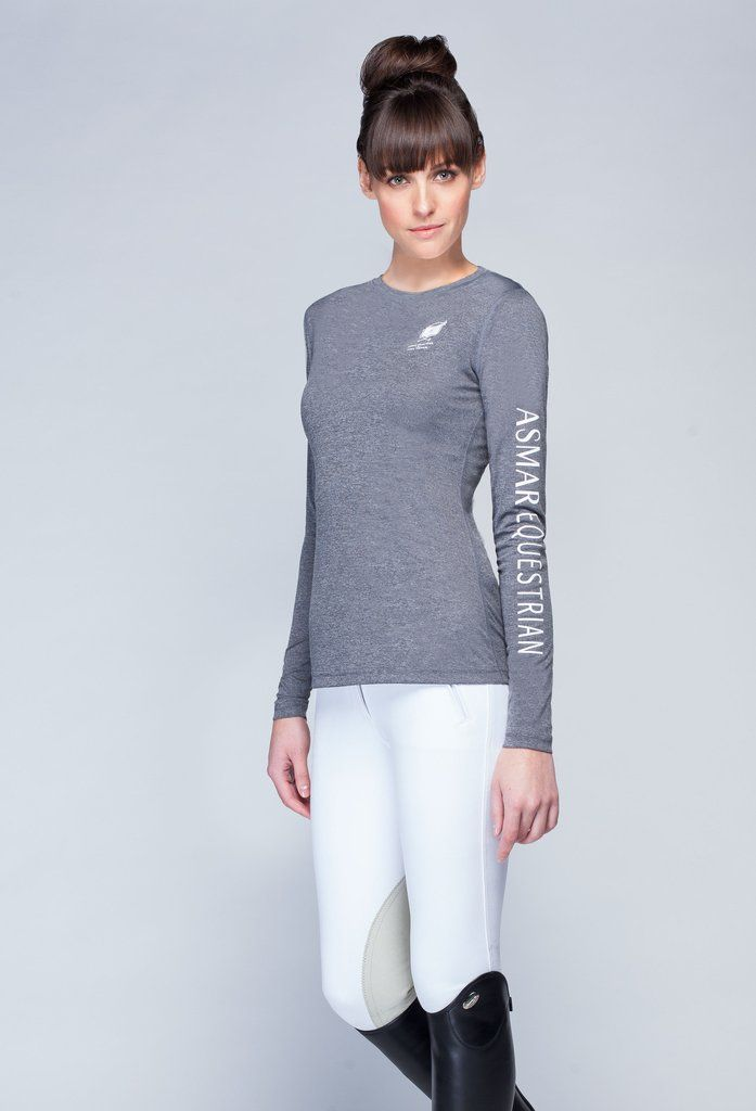 Great for layering or sporting solo year round. You'll love the bold branding and timeless style of this everyday fitness essential. Signature AE branding on left sleeve. Fabric Features: Chitosante t