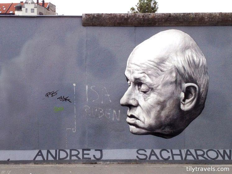 East Side Gallery Berlin Germany Danke Andrek Sacharow 2012 Select Image To See More East Side Gallery Berlin Street Art