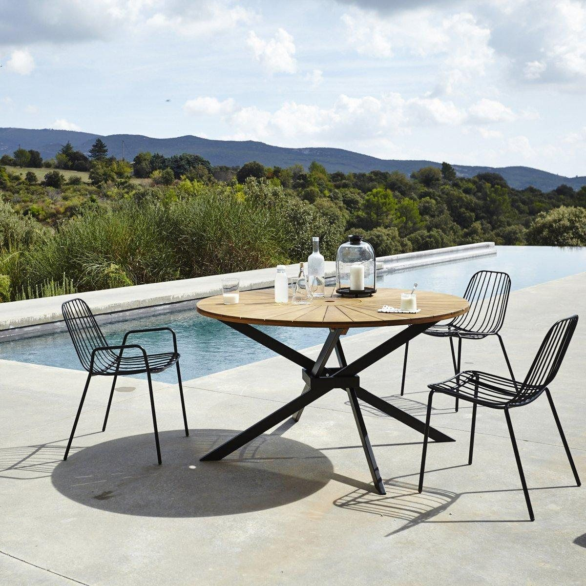 Table de jardin ronde, Jakta | Garden party! | Outdoor dining chair ...