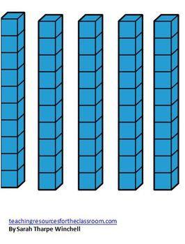 Amazon.com: Learning Resources Plastic Base Ten Starter Kit ...