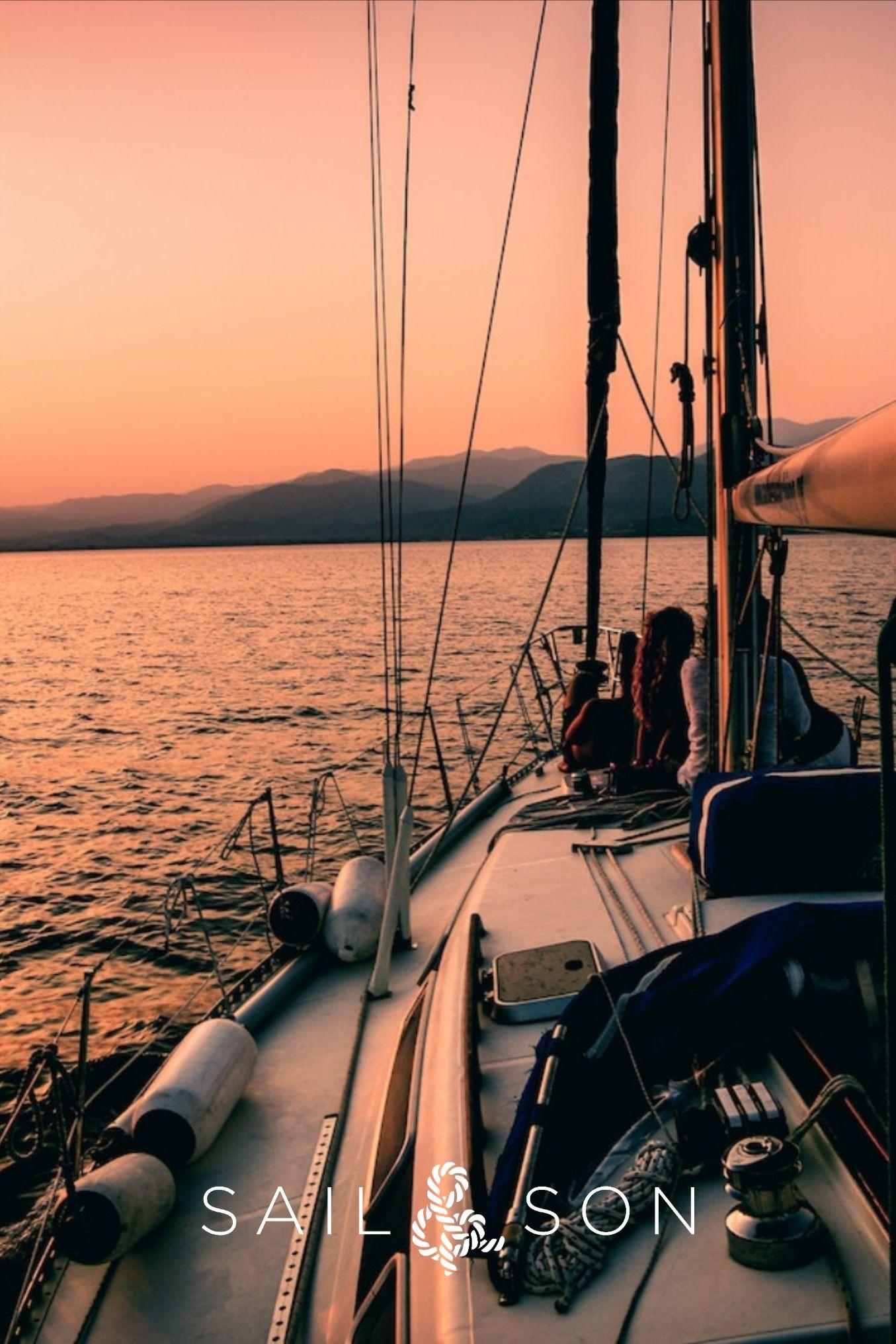 Desktop Wallpaper Of Monohull On Aegean Sea Sailing Trips Travel Aesthetic Travel
