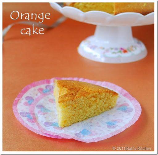 Eggless Orange Cake Recipe Eggless Cake Recipes Raks Kitchen Recipe Orange Cake Recipe Orange Cake Eggless Cake