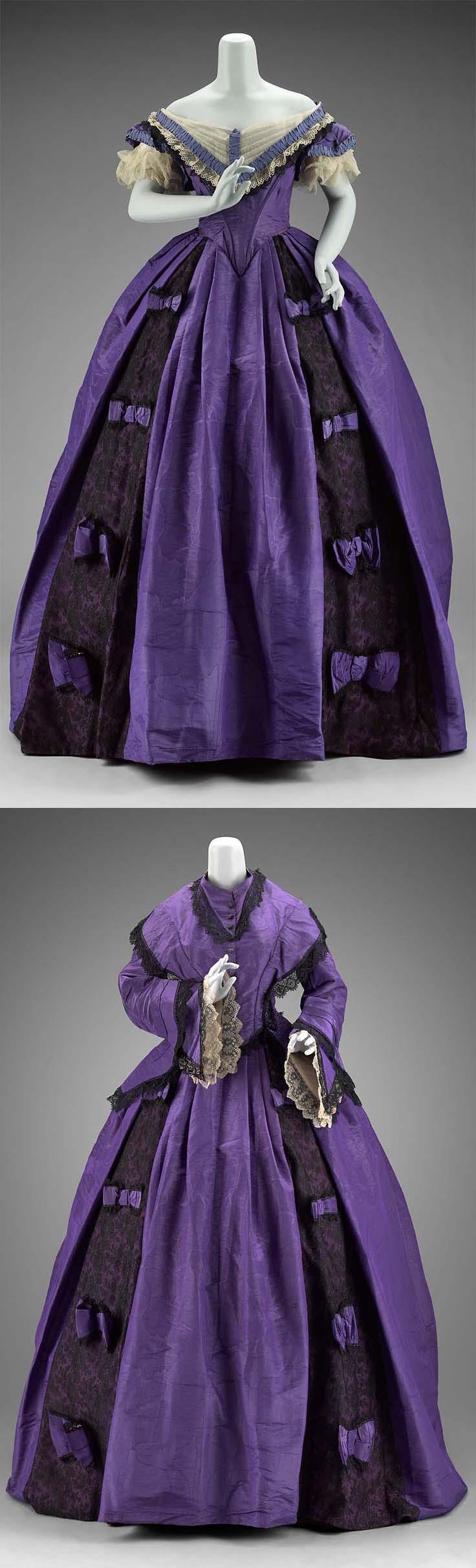 American dress, 1860s, worn by Jessie Benton Fremont