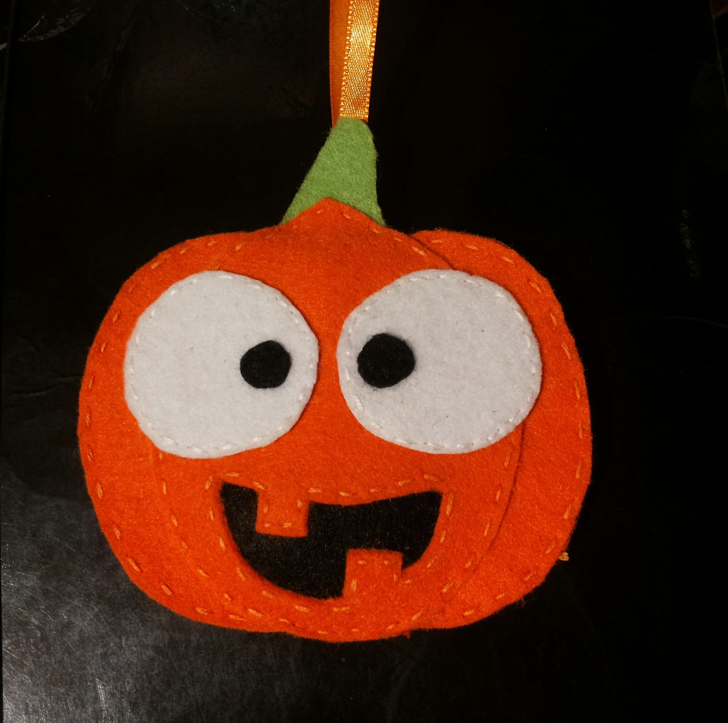 Pumpkin halloween felt / Dynia halloween filc Filc