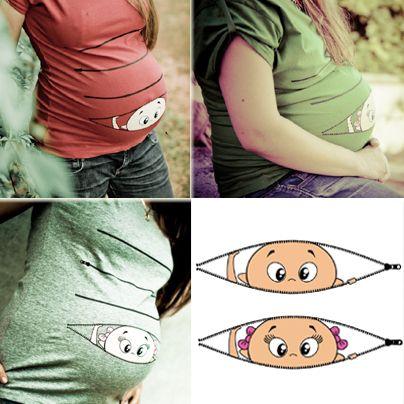Details zu Cool Schwangerschaft Tunic 10 verschiedene Farben ...