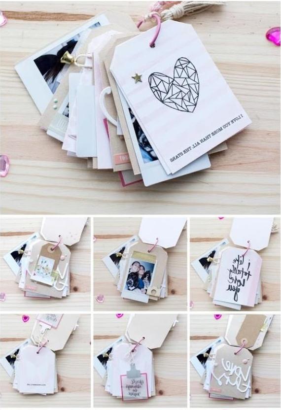 10 mini lbumes para regalarle a tu pareja en su pr ximo - Ideas originales con fotos ...