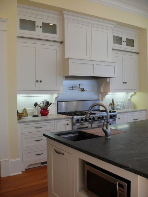 honed virginia mist granite counter top | Kitchen Remodel Ideas ...