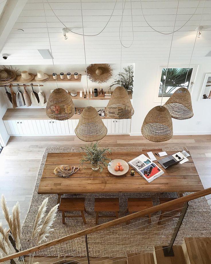 Une salle à manger tout en bois #Déco #Bois #Nordique #Aménagement