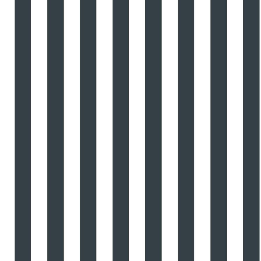 Shop Inspired By Color Black and White Paper Stripes Wallpaper at Lowes.com