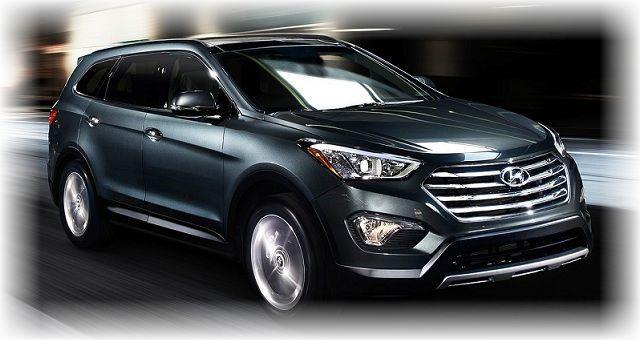 2017 Hyundai Santa Fe Hybrid Concept