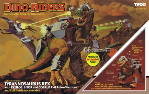 Dino-Riders toys returning?