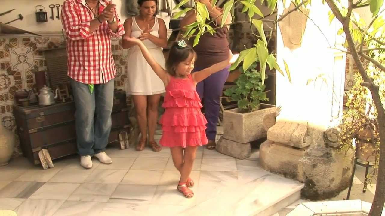 Little girls doing flamenco is the loveliest and most