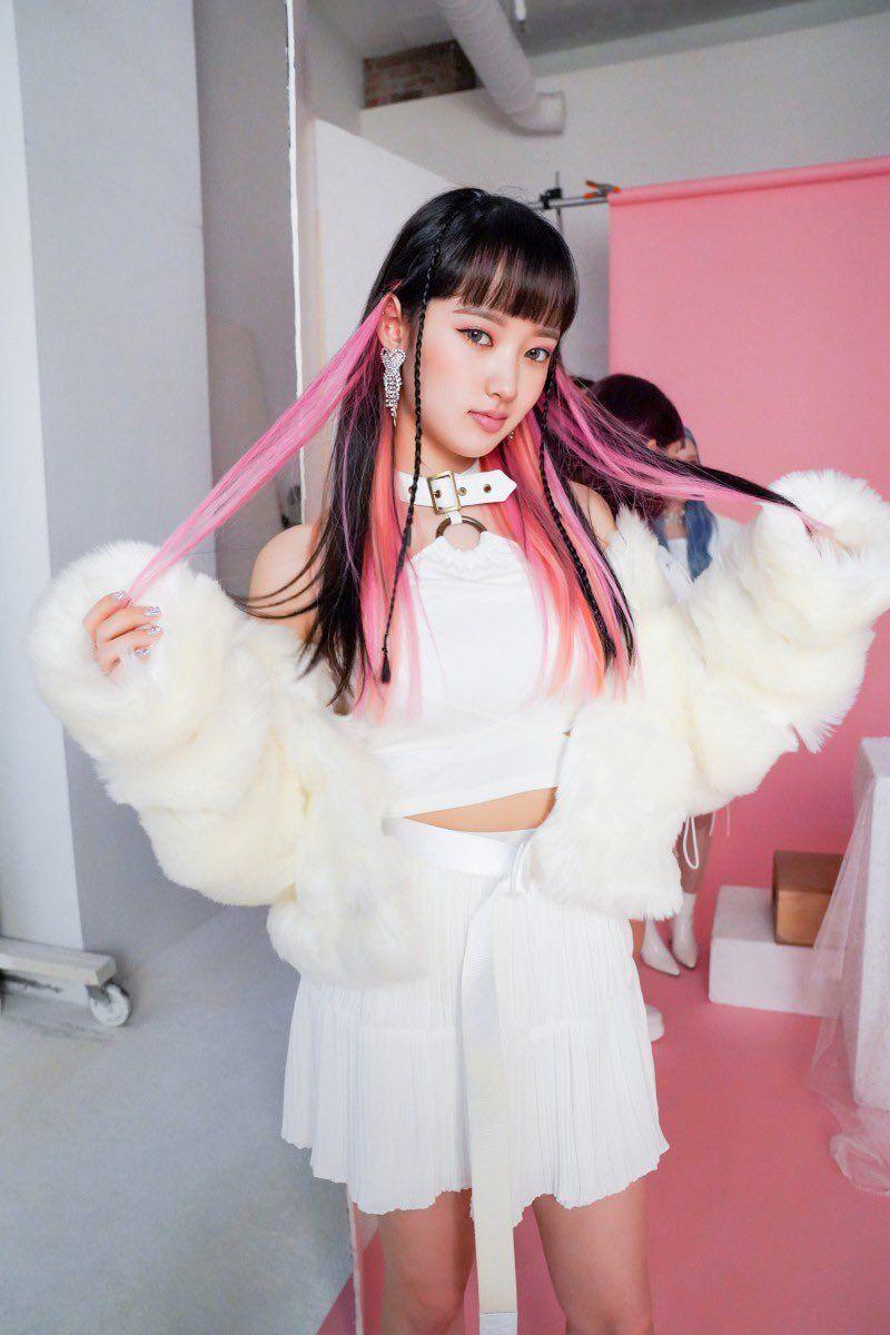 Tiffkyu Girl Haircuts Aesthetic Hair Dyed Hair