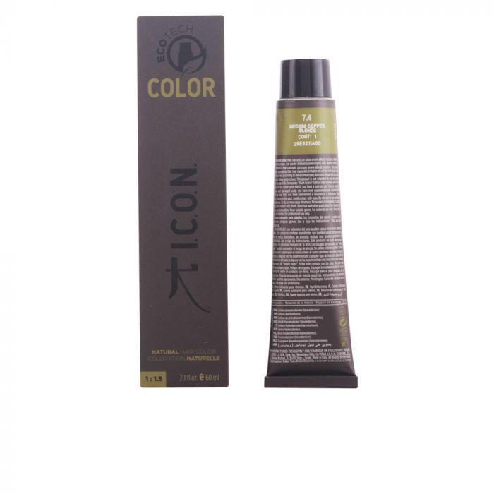 Icon Ecotech Color Natural Hair Color 74 Medium Copper Blonde 60ml