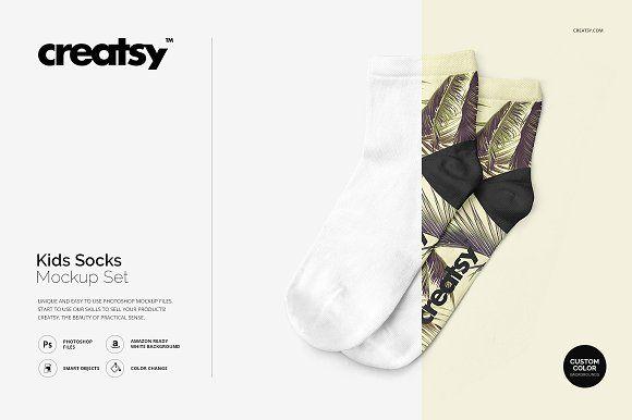 7387+ Socks Mockup Set Free for Branding