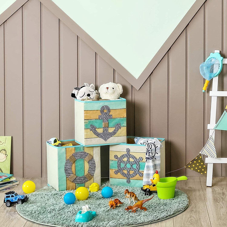 Aufbewahrungsbox 3er Set Spielzeugkisten In 2020 Aufbewahrungsbox Kinder Zimmer Kinderzimmer