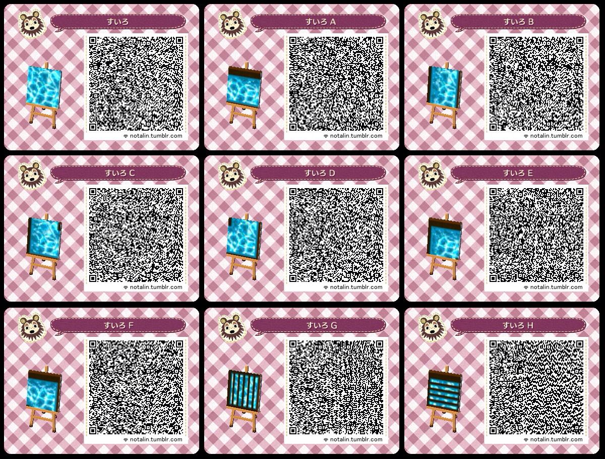 Animal crossing new leaf qr code animal crossing for Animal crossing mural